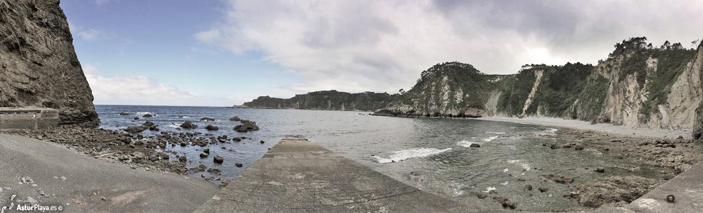 El Castrillon Beach Cudillero Asturias1