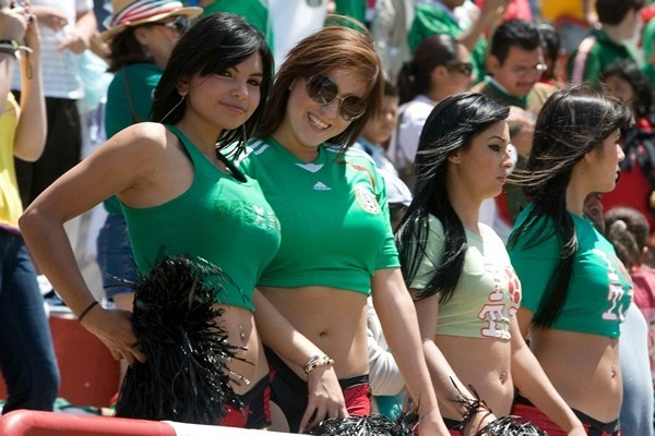 Mujetes Mexicanas Porristas