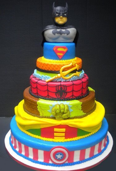 Awesome Batman Cake Super Hero Superman Favim Com 320848